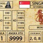 Prediksi Togel Singapura Hari ini 07 Februari 2019 - Mabosway
