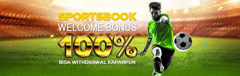 Sportsbook Welcome Bonus 100%