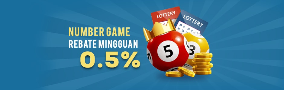 Rebate Mingguan Number Game 0.5%