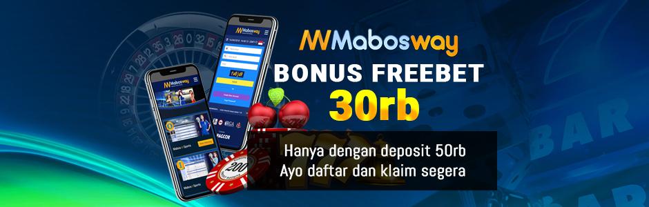 Bonus Freebet 30rb