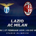 Prediksi Bola Lazio vs Milan 27 Februari 2019