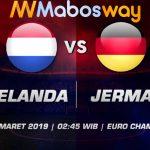 Prediksi Bola Belanda vs Jerman 25 Maret 2019
