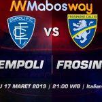 Prediksi Bola Empoli Vs Frosinone 17 Maret 2019