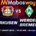 Prediksi Bola Leverkusen vs Werder Bremen 17 Maret 2019