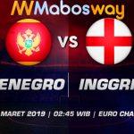 Prediksi Bola Montenegro vs Inggris 26 Maret 2019