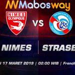 Prediksi Bola Nimes vs Strasbourg 17 Maret 2019