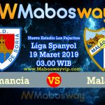 Prediksi Bola Numancia vs Malaga 19 maret 2019