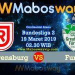 Prediksi Bola Regensburg vs Furth 19 maret 2019