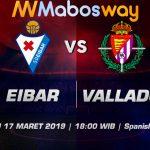 Prediksi Taruhan Bola Eibar vs Valladolid 17 Maret 2019