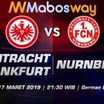 Prediksi Bola Frankfurt vs Nurnberg 17 Maret 2019