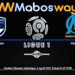 Prediksi Bola Bordeaux Vs Marseille 06 April 2019